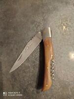 couteau pliant Pradel Evolution tire bouchon lame 10 cm