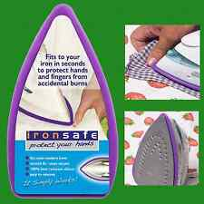 Silicone Steam Iron Guard, Protect & Stop Fingers And Hands From Burns, Ironsafe