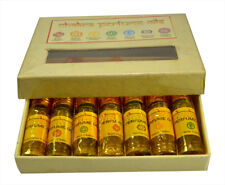 Chakra Natural Perfume Oil Gift Set Containing USA 7 Bottles Each Have 3 ml