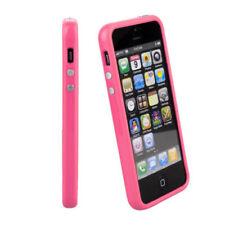 Fundas y carcasas bumperes Para iPhone 5 color principal rosa para teléfonos móviles y PDAs