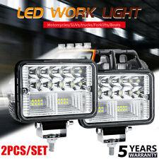 "2PCS 4""Inch 12V 78W LED Work Light Bar Flood Pods Driving Off-Road Tractor HOT ~"