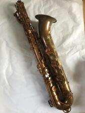 Professional Newest Antique Baritone Eb saxophone Low A Sax 2 Neck With Case