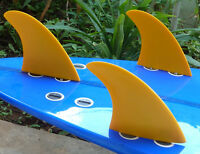 New FCS Compatible Fibreglass Surf Fins from Indo Fins H2 Small Thruster Style