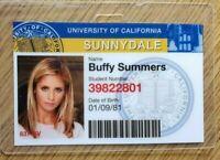 Buffy Vampire Slayer ID Badge-Sunnydale Buffy Summers costume cosplay