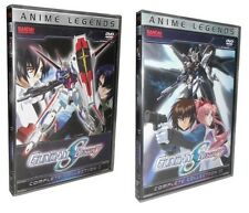 Gundam SEED Destiny: Complete Collections 1 & 2 (DVD, 12-Disc Set) I and II