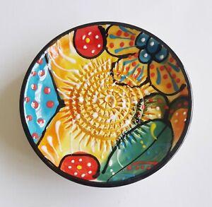Spanish Ceramic Garlic Grater 12 cm diam.