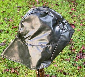 WW2 GERMAN KRIEGSMARINE SOUWESTER CAP. U-BOAT,DESTROYERS MARINE MARKED ORIGINAL.