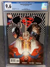 Superman Batman #41 CGC 9.6 (DC 2007) Darkseid, New Slab, WP NM+ Beauty!