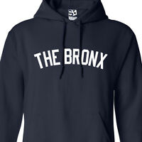 The Bronx Yankee HOODIE - Hooded Sweatshirt New York Hip Hop NY All Sizes Colors