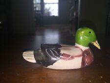 Htf – Rare And Hard To Find Cute Ceramic Duck Figurine