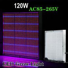 120W 1365 Leds Fluorescent Grow Light Hydroponic Plant Full Spectrum Panel Lamp