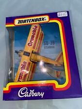 Matchbox Skybusters Cadburys SB39 Stearman Bi plane Boxed 1993