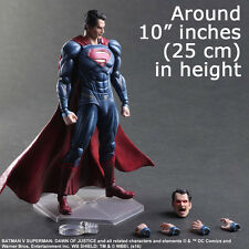 Play Arts Kai Superman Dawn of Justice Man Steel PVC Action Figure 3D Model NEW