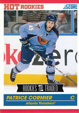 10/11 SCORE ROOKIES & TRADED HOT ROOKIE RC #615 PATRICE CORMIER THRASHERS *7592