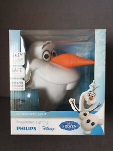 "Frozen Philips 3D Lampe ""Olaf"""