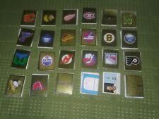 1988-1989 Panini NHL Hockey Sticker Team Sets - You Pick Set