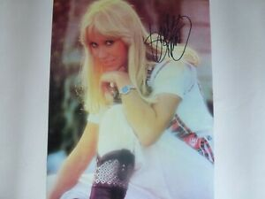 AGNETHA FALTSKOG ( ABBA ) SIGNED AUTOGRAPHED PHOTOGRAPH SIZE 10 X 8 WITH C.O.A.