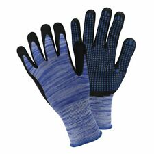 Briers Mens Triple Ribbed Gloves Grey//Yellow//Black Large