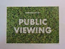 Werbepostkarte - Energiespartipp 192 - Public Viewing - Postkarte / Karte - Neu