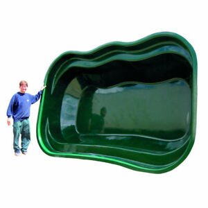 Lotus Niigata Fibreglass Preformed Pond 4950L 1100 Gals 363cm Lifetime Guarantee