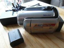 Panasonic SDR-H20EB-S HDD Video Camera Camcorder & Charger