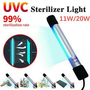 Portable LED Disinfection Lamp Tube Handheld UVC Sterilizer Germicidal Lights