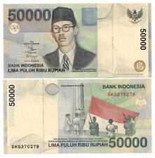 INDONESIEN INDONESIA 50000 50.000 RUPIAH 1999 /2004 UNC P 139 f