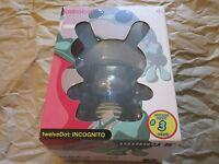 "Dunny KidRobot TwelveDot Incognito 5"" Clutter Black #3 Series"