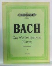 BACH - Clavicembalo ben temperato volume 2 - ed Peters
