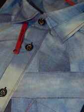 SIGNUM  Comfort   Gr. M   Langarm   NEU    blau weiß hellblau     130.4