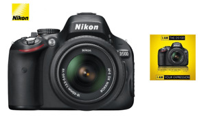 Nikon D5100 DSLR Camera with 18-55mm f/3.5-5.6 Auto Focus Zoom Lens