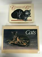 2 Boxed Cat Blank Note Cards Stationery Fine Art Museum Boston San Francisco
