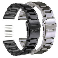 18 20 22 24mm Stainless Steel Band Replace Bracelet For Fossil Q Watch Strap