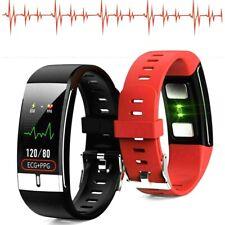 Smart Watch ECG PPG HRV SpO2 Sport Blood Pressure Steps Calories Sleep Bracelet