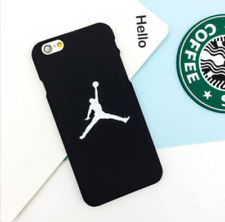 Jordan Black Couple Case Cool Man Hard Cover for iPhone 5s SE 6s 7 Plus 8 Plus