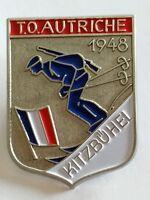 Insigne troupes d'occupations françaises en Autriche Österreich 1948 - Refrappe