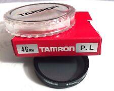 Genuine Tamron 46mm PL Polarizer Polarizing  Lens Filter Japan Polar 46 mm OEM