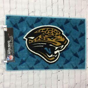 "NFL Jacksonville Jaguars Non-Skid Rug (20""X30"") Football Man-Cave Tailgating Mat"