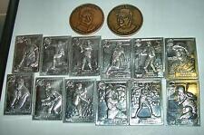 1987 GALLERY OF CHAMPIONS ALUMINUM BOGGS SCOTT GWYNN WORREL AND KAHN'S COINS