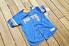 New York Mets Youth Medium Button Up Jersey by True Fan New with tags