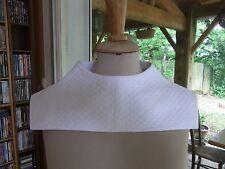 COL N11 FAUX COL Piqué de coton VINTAGE 50/60 Cotton quilted COLLAR Cuello