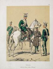 Bayern Uniform Säbel Kavallerie Tschapka Ulanka Uhlan Ulan Federbusch Waffenrock