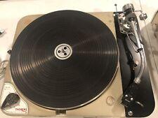 Vintage Thorens Td 124 Turntable with Sme 3009 Tonearm Track Plus Mid Century