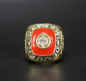 1979 Denver Broncos American Football Team Ring Souvenirs Fan Men Gift