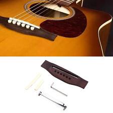 Adjustable Shaft Rosewood Guitar Bridge Saddle Nut Suitable For Acoustic Guitar