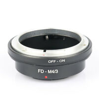 FD-M4/3 Lens Adapter for Canon FD Mount to Micro Four Thirds M4/3 MFT Camer XL