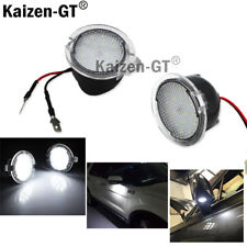 2PCS High Power White LED Side Mirror Puddle Lights For 2007-2017 Toyota Tundra