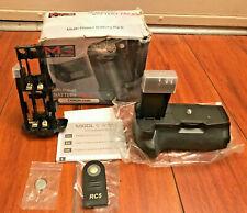 MeiKe Multi-Power Battery Pack Battery Grip for Canon EOS 550D 600D 650D 700D