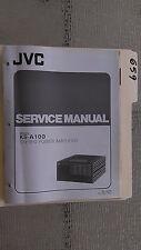 JVC ks-a100 service manual original repair book stereo power amp amplifier