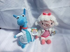 Doc McStuffins Stuffy Dragon  + Lambie 17cm ( Lt Nurse)